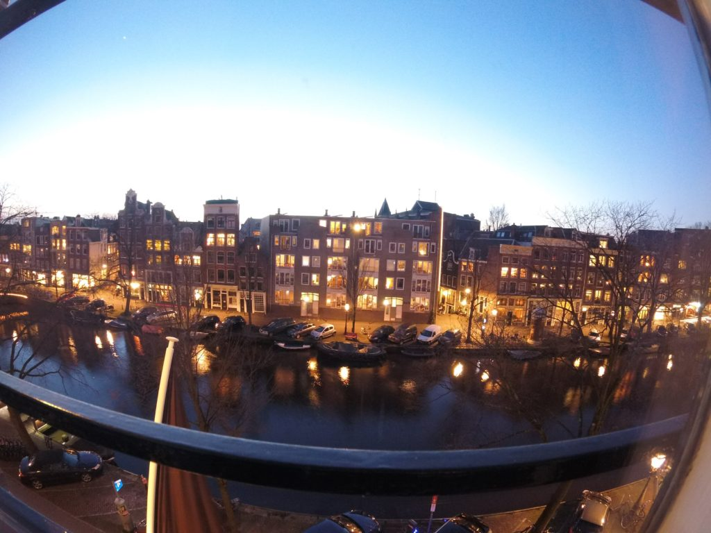 Our silver gap year starts in amsterdam
