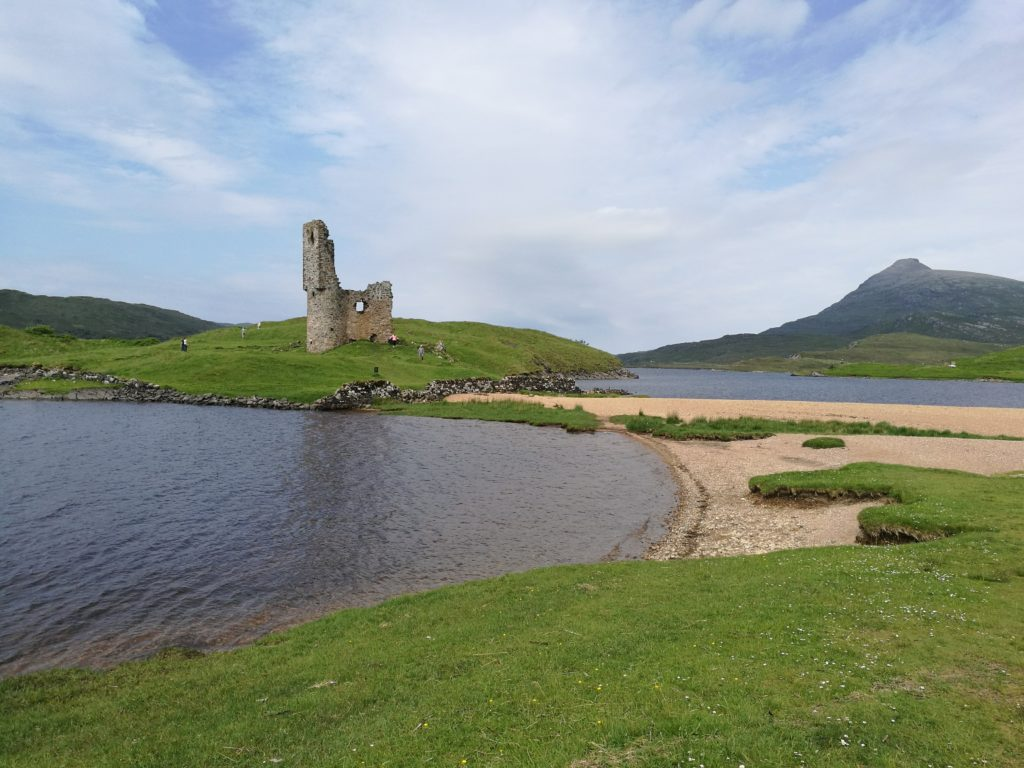 Ardvreck Castle on the North Coast 500