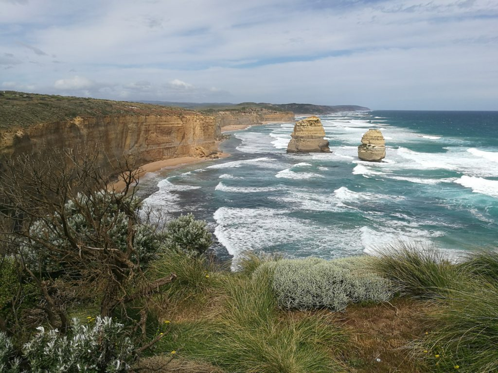 Scenery on the Great Ocean Road Road Trip