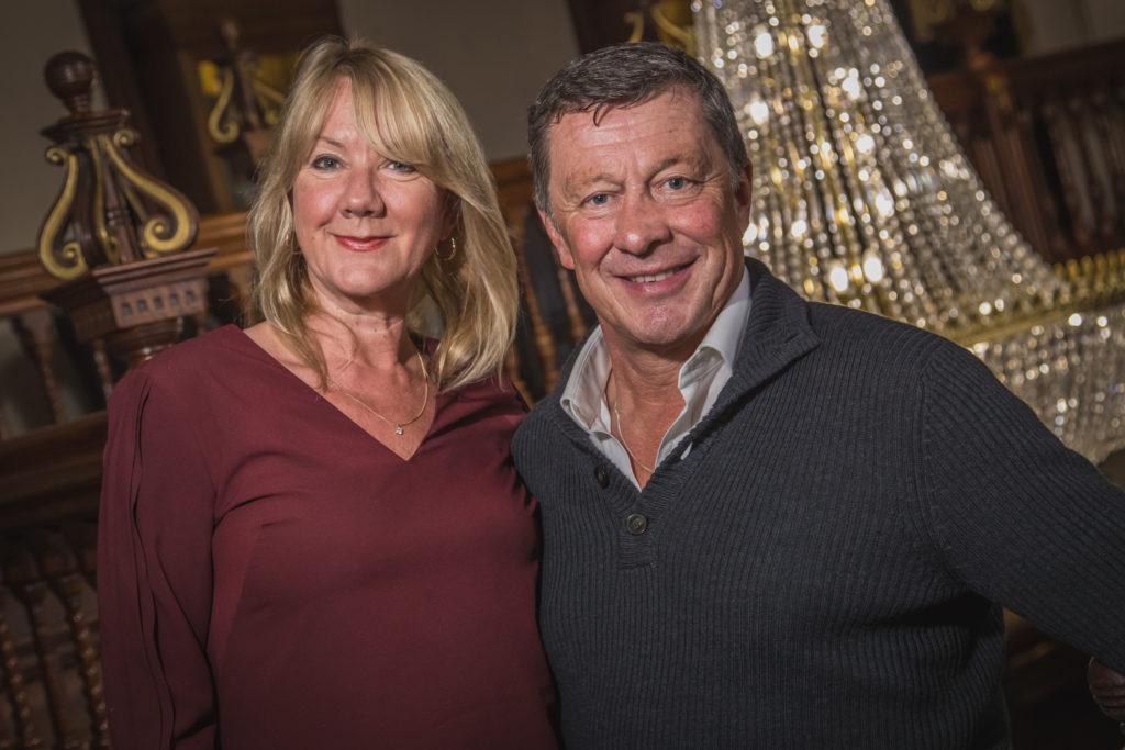 Homesitters Karen and Neil Oddy