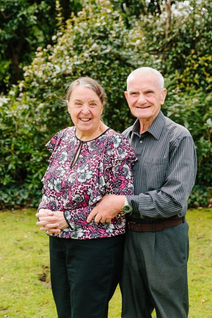Keith and Teresa Davey retired couple
