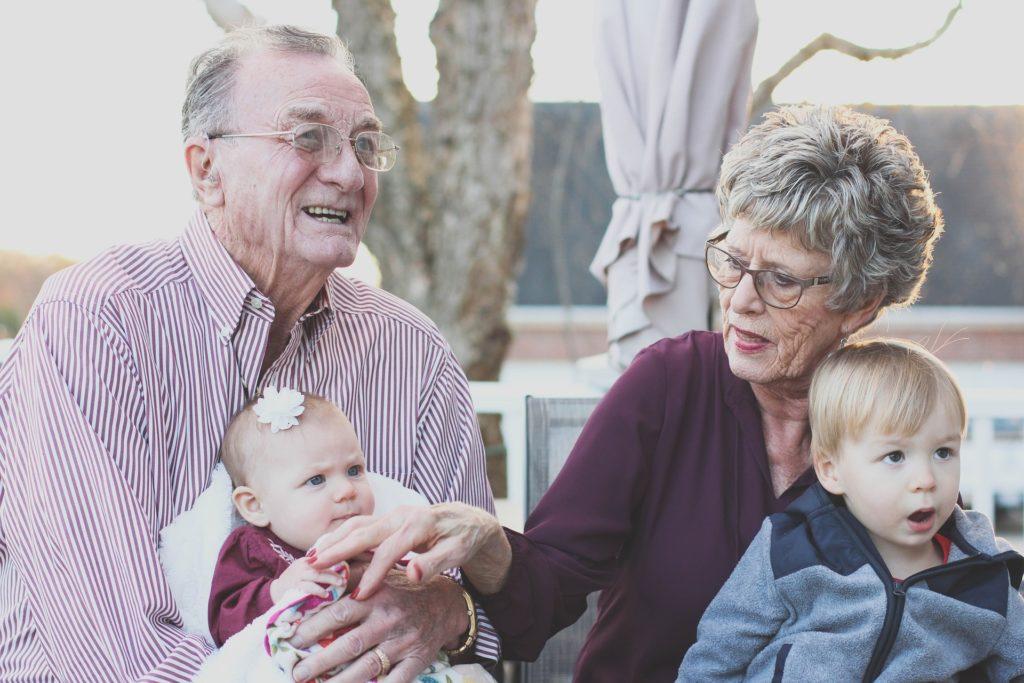 grandparents - older people