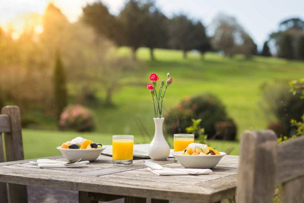 Budock Vean Hotel breakfast
