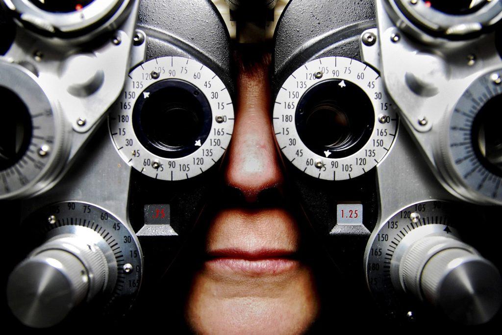 Eye Test - Keeping in Shape