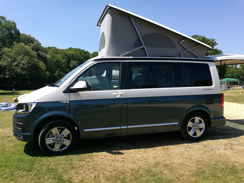 Profile view of the VW California Ocean