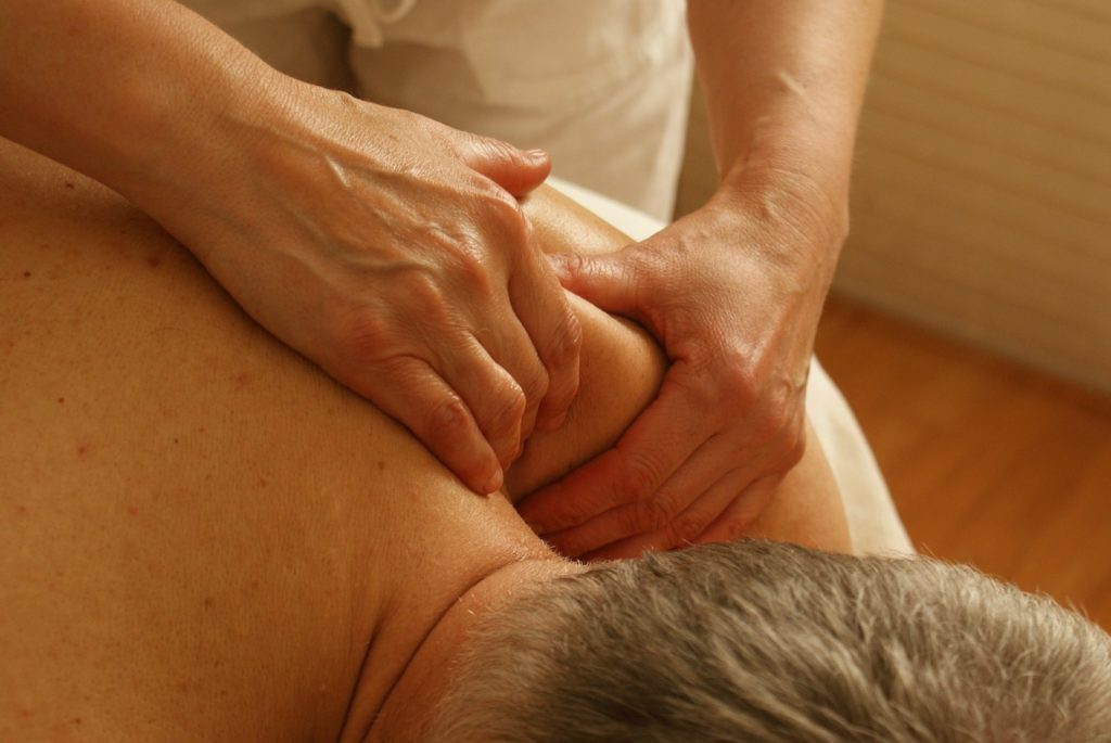 massage back pain
