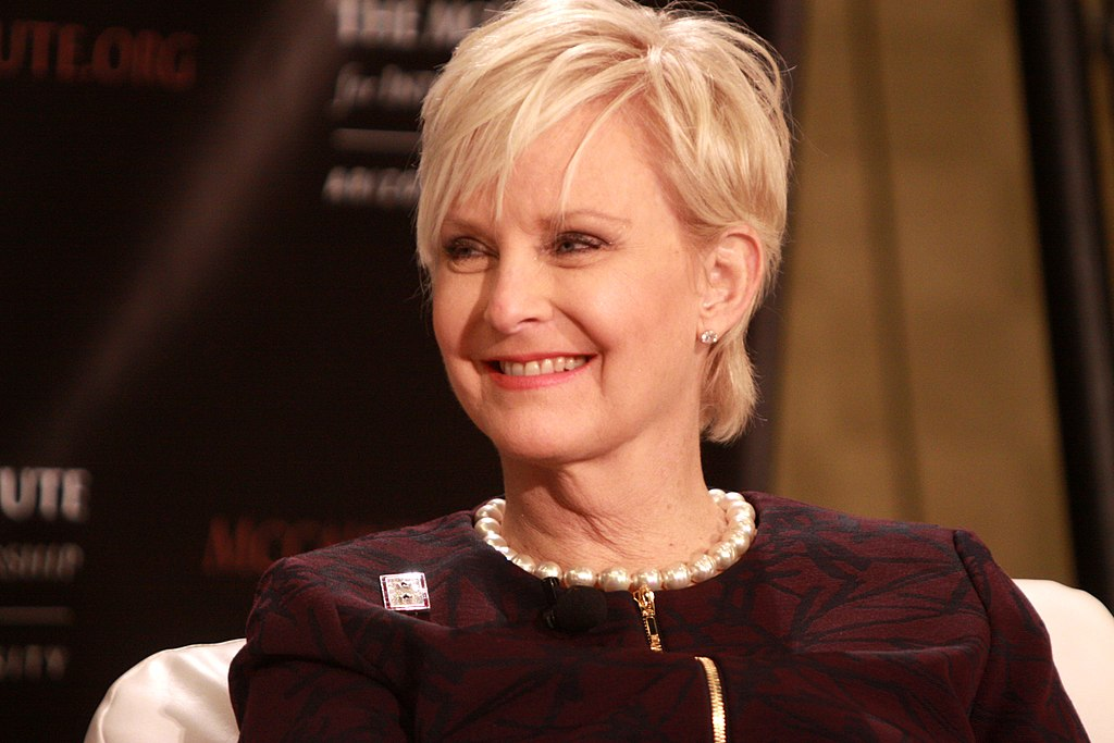 Cindy McCain pixie hair cut