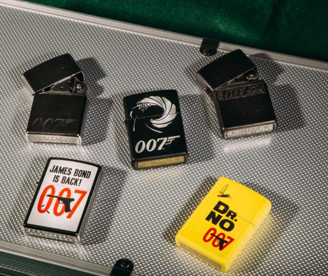 James Bond Zippo Lighters