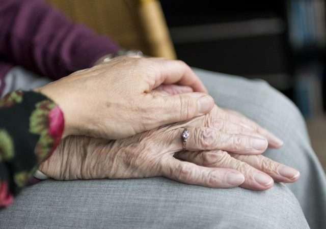 ageing hands