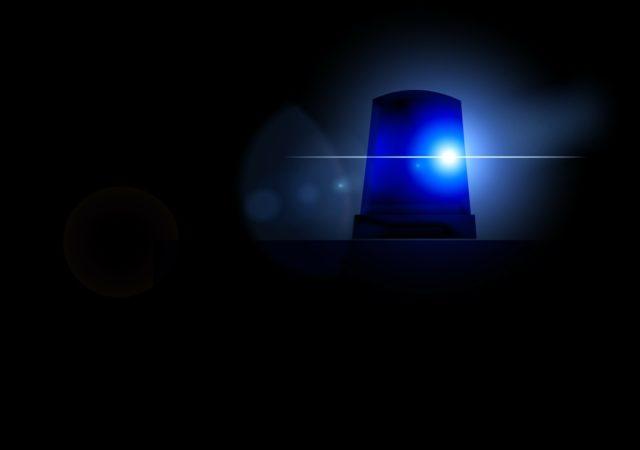 emergency services blue light