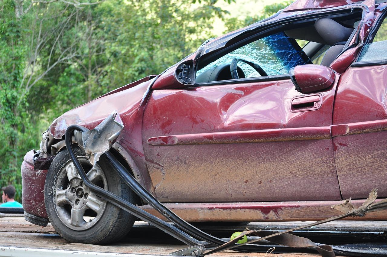 car crash - speed