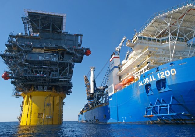 the marine side of the offshore oil and gas industry
