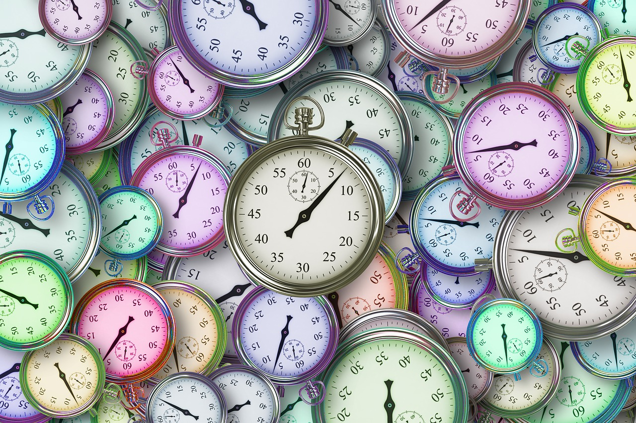 punctuality - clocks