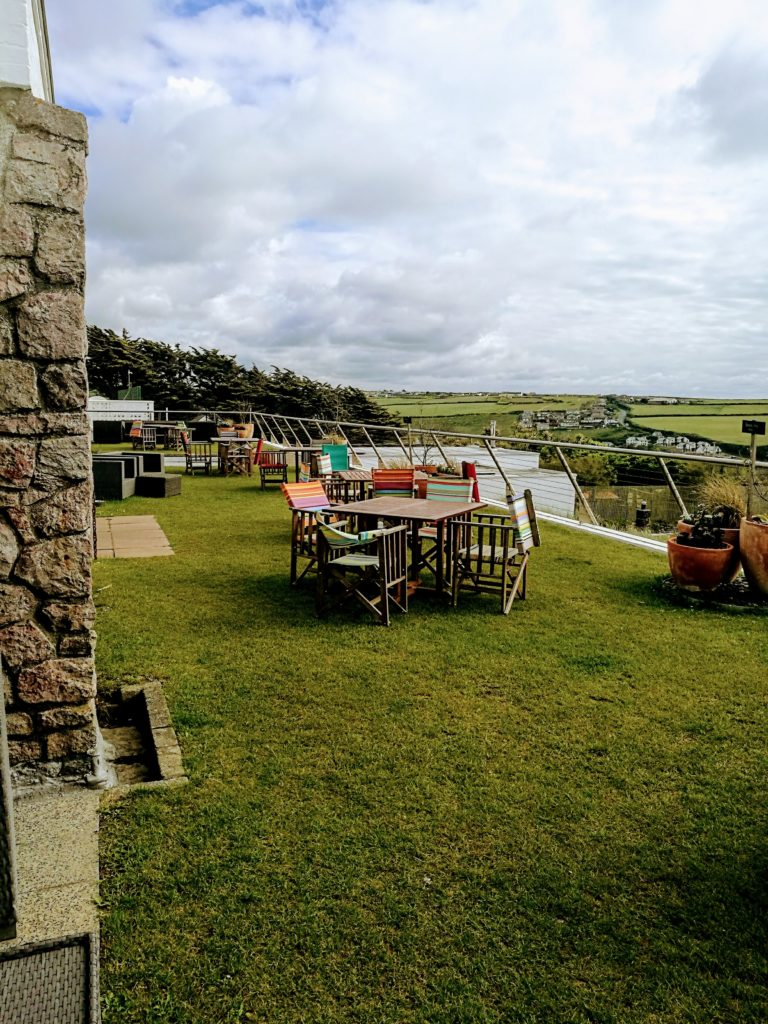 The Terrace at the Bedruthan Hotel