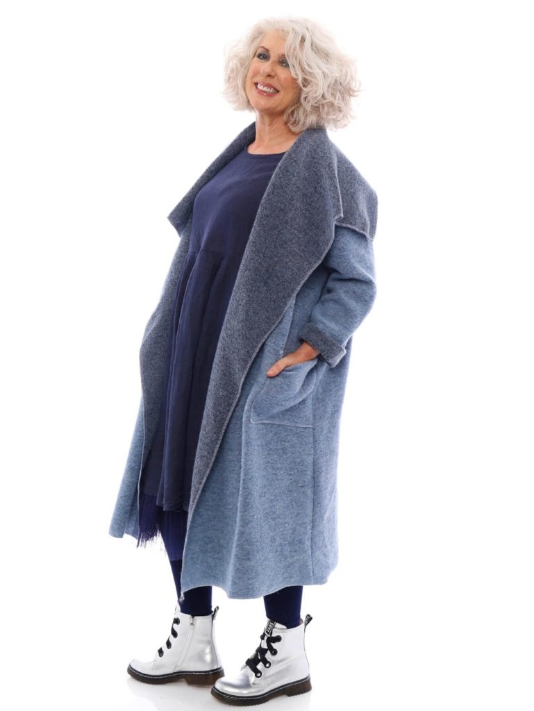Phoebe Wool Coat Kit and Kaboodal