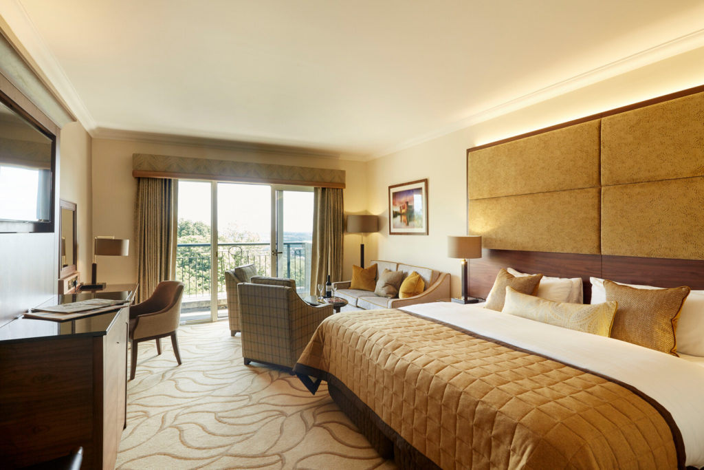 A signature Collection Room at the Celtic Manor Hotel
