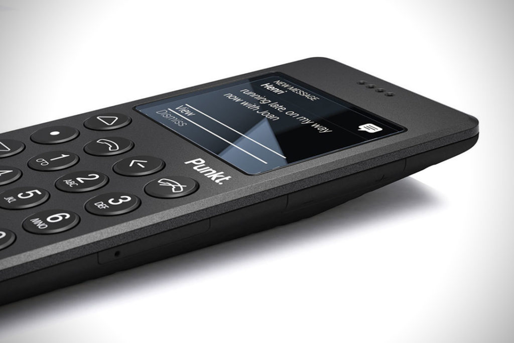 The Punkt MP02 Mobile Phone
