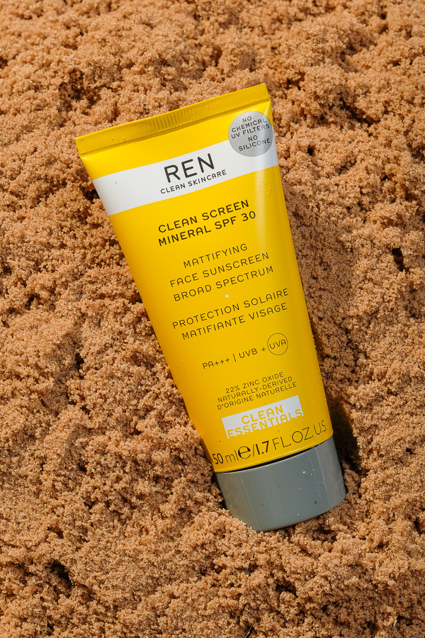 REN sunscreen