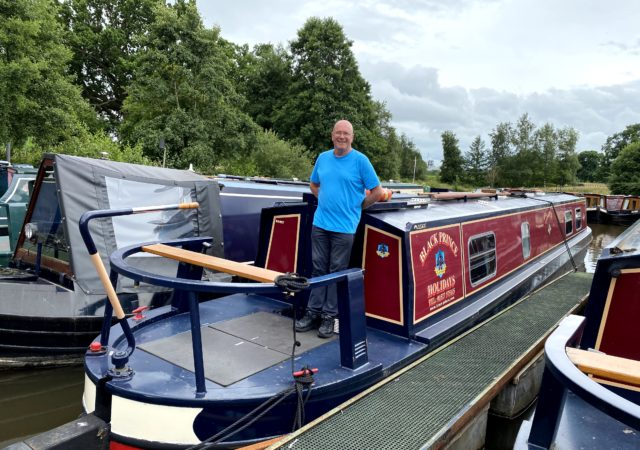 Black Prince narrowboat