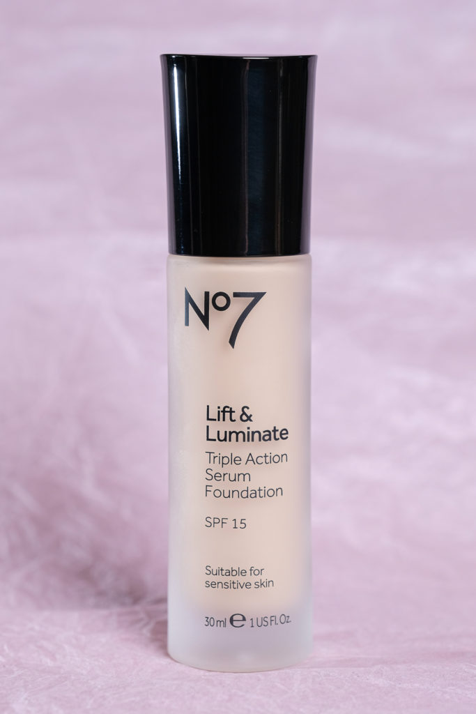 No 7 Lift and Luminate Foundation