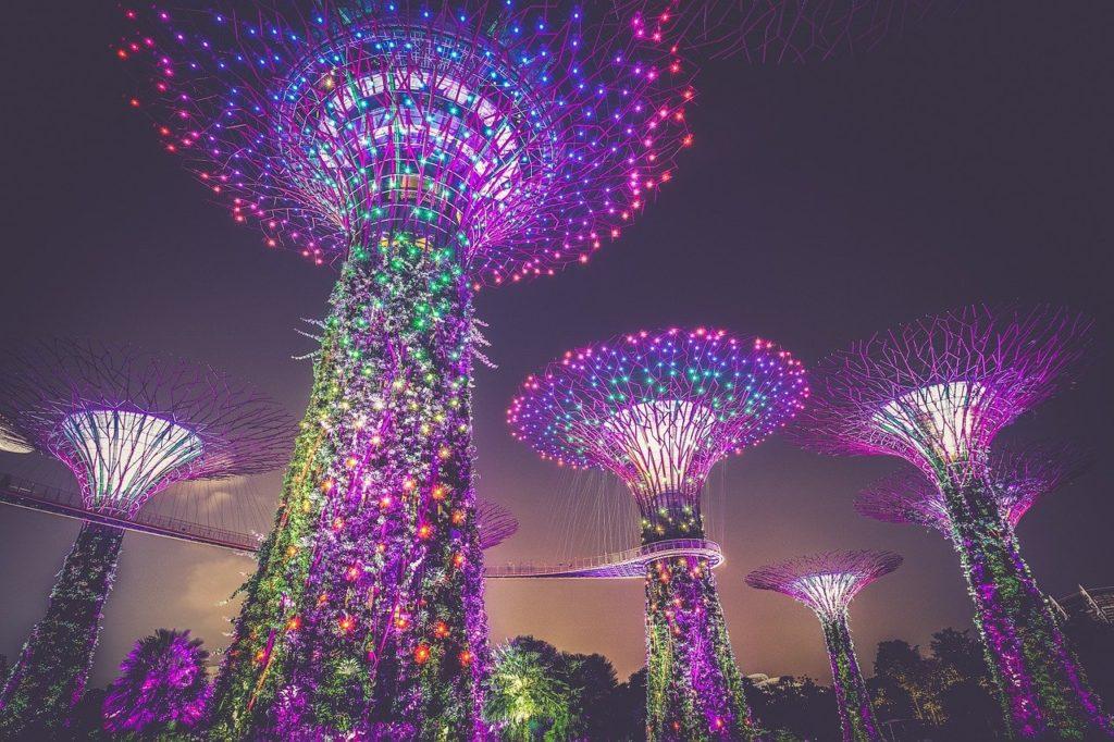 Singapore Xmas tree